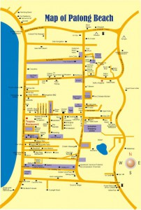 Meeting Location Map Lions Club Phuket Andaman Sea