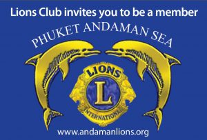 Join the Lions Club Of Phuket Andaman Sea